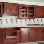 Tủ bếp nhôm kính hà nội